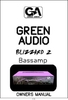 Bedienungsanleitung GREEN AUDIO Blizzard 2