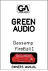 Bedienungsanleitung GREEN AUDIO Fireball 2